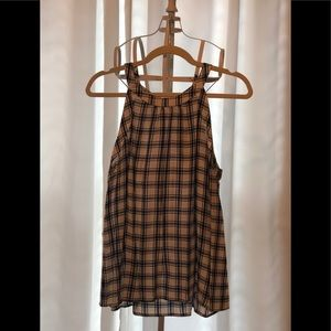 Plaid tank top from Stitch Fix